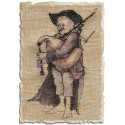 Biniou (Волынщик) Набор для вышивки крестом Nimue