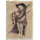 Biniou (Волынщик) Набор для вышивки крестом Nimue 60-A037K