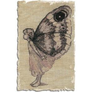 Le Papillon (Бабочка) Набор для вышивки крестом Nimue 55-A033K