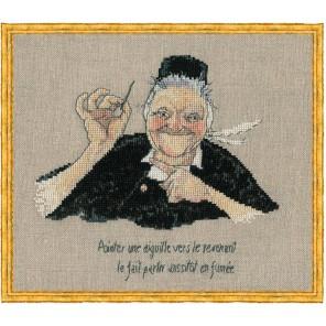 Mamm Gozh (Мать Гож) Набор для вышивки крестом Nimue 18-A0013K