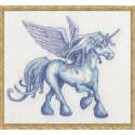 Malycorne (Единорог) Набор для вышивки крестом Nimue 47-G002K