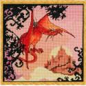 Dragon Rouge (Красный дракон) Набор для вышивки крестом Nimue 121-B002KA