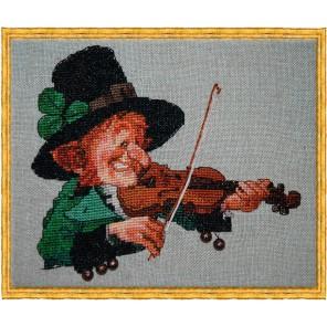 The Green Violin (Зелёный скрипач) Набор для вышивки крестом Nimue 77-A079K