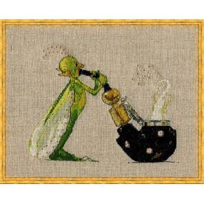 La Pipe (Трубка) Набор для вышивки крестом Nimue 4-A004K