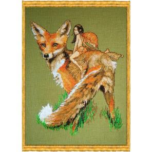 Renard Le Roux (Красная лисица) Набор для вышивки крестом Nimue 108-A049K
