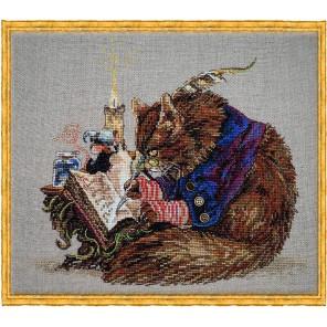 Challigraphe (Каллиграф) Набор для вышивки крестом Nimue 103-P001K