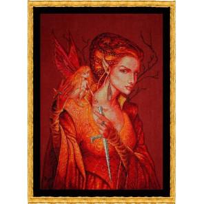 Reine des Fees (Королева фей) Набор для вышивки крестом Nimue 107-G004MK