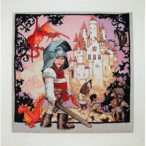 Petit Chevalier (Маленький рыцарь) Набор для вышивки крестом Nimue 120-B001K