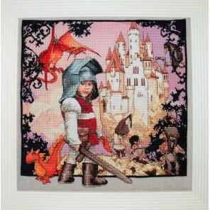Petit Chevalier (Маленький рыцарь) Набор для вышивки крестом Nimue 120-B001KA