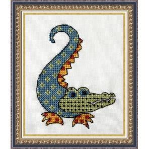 Квилтовый крокодильчик Набор для вышивания Neocraft ЦТ-07