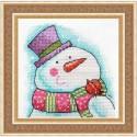 Снеговик Набор для вышивания Neocraft ПР-19