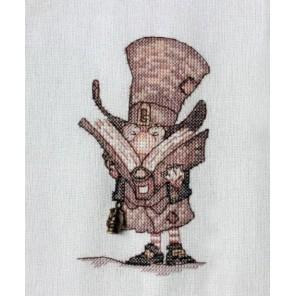 Джентельмен с книгой Набор для вышивания Neocraft МН-12