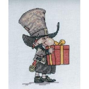 Джентельмен с подарком Набор для вышивания Neocraft МН-13