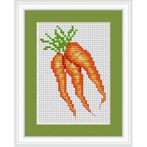 Три морковки Набор для вышивания Luca-S B025