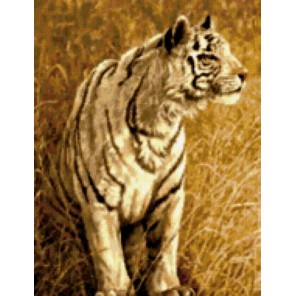 Охота белого тигра Набор для вышивания Kustom Krafts 93047