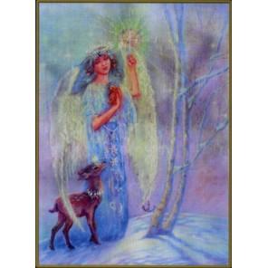 Ангел-хранитель зимы Набор для вышивания Kustom Krafts NNT-038