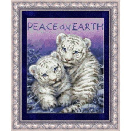 Мир на земле Набор для вышивания Kustom Krafts 99507