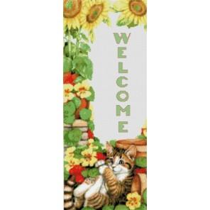 Добро пожаловать Набор для вышивания Kustom Krafts 90067
