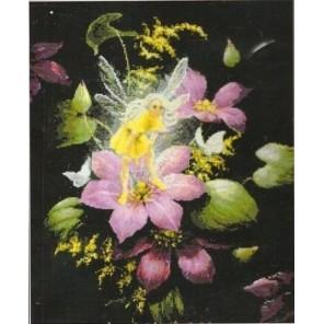 Фея на цветке Набор для вышивания Kustom Krafts 99937