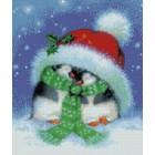 Праздничные пингвины Набор для вышивания Kustom Krafts 98217