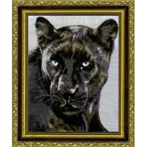 Черная пантера Набор для вышивания Kustom Krafts JW-001