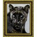 Черная пантера Набор для вышивания Kustom Krafts