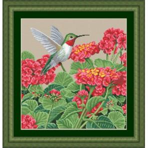 Великолепие колибри Набор для вышивания Kustom Krafts 98457