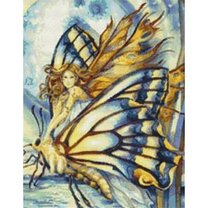 Фея бабочек Набор для вышивания Kustom Krafts JB-003K