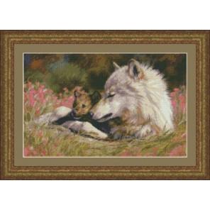 Поздняя весна (Волки) Набор для вышивания Kustom Krafts 98847