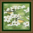 Весенние гаички Набор для вышивания Kustom Krafts 98337