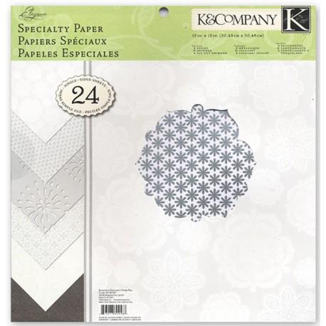 * Свадебная элегантность 31х31см Набор бумаги для скрапбукинга, кардмейкинга K&Company