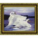 Лебеди Набор для вышивания Kustom Krafts