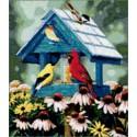 Сокровища в саду Набор для вышивания Kustom Krafts