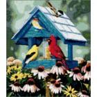 Сокровища в саду Набор для вышивания Kustom Krafts 98147