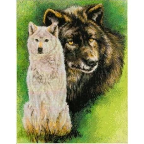 Непонимание (Волки) Набор для вышивания Kustom Krafts 98037