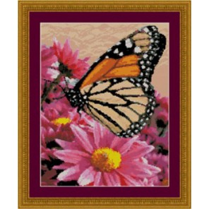 Бабочка-данаида Набор для вышивания Kustom Krafts 52097