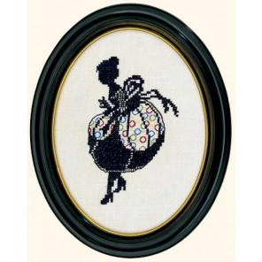 Дама (силуэт) Набор для вышивания Eva Rosenstand 12-493
