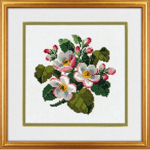 Цветы яблони Набор для вышивания Eva Rosenstand 14-168