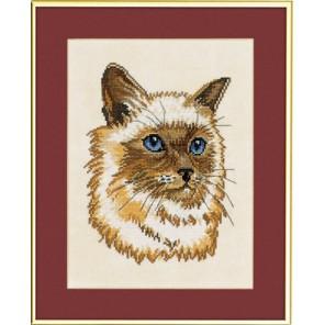 Персидский кот Набор для вышивания Eva Rosenstand 12-917