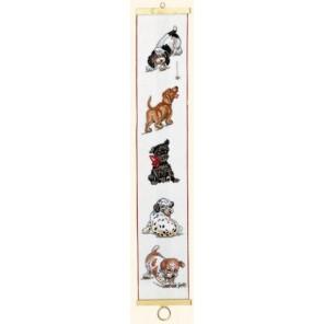 Собачки, 5 сюжетов Набор для вышивания Eva Rosenstand 13-241