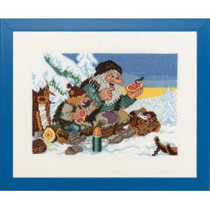 Зимний пикник Набор для вышивания Eva Rosenstand 14-270