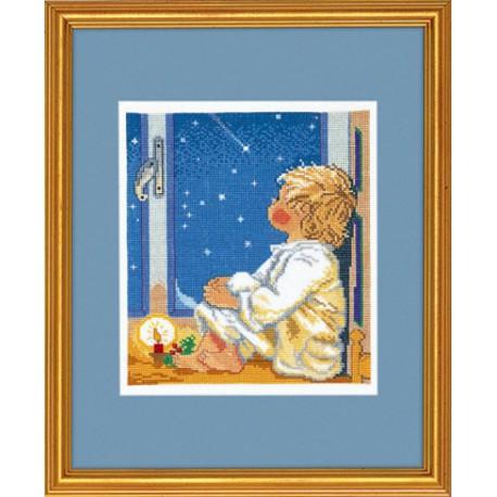 Мальчик и звезды Набор для вышивания Eva Rosenstand 14-059