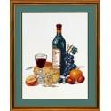 Сыр и красное вино Набор для вышивания Eva Rosenstand 14-158