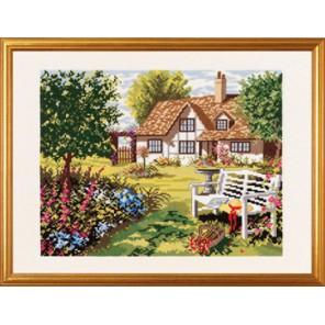 Английский домик Набор для вышивания Eva Rosenstand 14-154