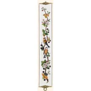 Птицы на ветке ежевики Набор для вышивания Eva Rosenstand 13-242