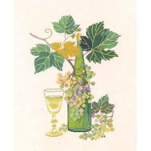 Белое вино Набор для вышивания Eva Rosenstand 08-4372