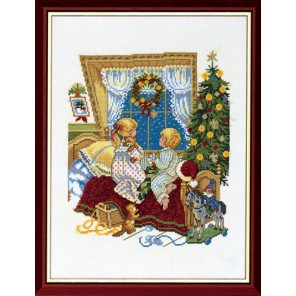 Малыши в кроватке Набор для вышивания Eva Rosenstand 14-205