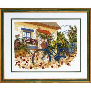 Голубой велосипед Набор для вышивания Eva Rosenstand 94-153