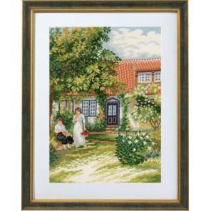 Дамы в саду Набор для вышивания Eva Rosenstand 14-356