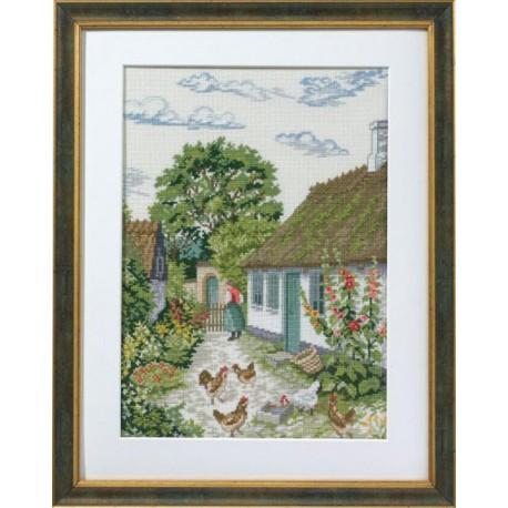 Шток-роза Набор для вышивания Eva Rosenstand 14-355